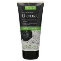 Beauty Formulas Charcoal Detox Cleanser 150ml Υγρό καθαρισμού προσώπου με ενεργό άνθρακα