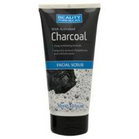 Beauty Formulas Charcoal Facial Scrub προσώπου με ενεργό άνθρακα 150ml