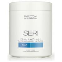 Farcom Professional Seri Σκόνη Αποχρωματισμού 500gr Blue Για ντεκαπάζ, Μες & Ανταύγειες