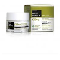 MEA NATURA Olive Eνυδατική, Αναζωογονητική 24ώρη Κρέμα για Πρόσωπο & Μάτια 50ml