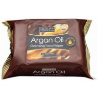 Beauty Formulas Argan Oil Μαντηλάκια Καθαρισμού Προσώπου 30 τεμαχίων