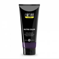 Nirvel Nutre Color Mask 200ml Χρωμομάσκα Χρώμα Μελιτζανί