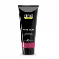Nirvel Nutre Color Mask 200ml Χρωμομάσκα Χρώμα Φράουλα