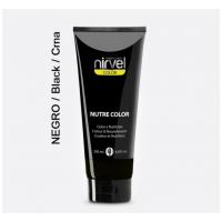 Nirvel Nutre Color Χρωμομάσκα χρώματος Μαύρο 200ml