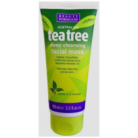 BEAUTY FORMULAS TEA TREE FACIAL MASK ΜΑΣΚΑ ΜΕ ΤΕΪΟΔΕΝΔΡΟ 100ml
