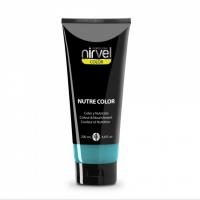 Nirvel Nutre Color Mask 200ml Χρωμομάσκα Χρώμα Τιρκουάζ