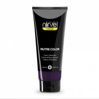 Nirvel Nutre Color Mask Violet 200ml Χρωμομάσκα Χρώμα Βιολέ