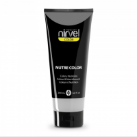 Nirvel Nutre Color Mask White 200ml Χρωμομάσκα Χρώμα Άσπρο