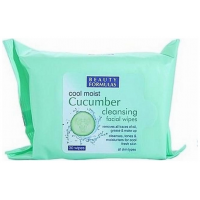 Beauty Formulas Cucumber Cool Moist Wipes Μαντηλάκια καθαρισμού 30 τεμαχίων