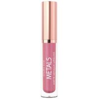 Golden Rose Metals Matte Metallic Lipgloss No 55 Dusty Pink