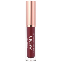 Golden Rose Metals Matte Metallic Lipgloss No 58 Plum