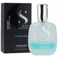 Alfaparf Semi Di Lino Crystal Di Seta 45ml Ορός 2 Φάσεων Για Όλους Τους Τύπους Μαλλιών