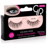 GOLDEN ROSE False Eyelashes & Adhesive ΒΛΕΦΑΡΙΔΕΣ Νο10
