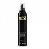 Nirvel Color Mousse 300ml  Χρωμοαφρός Χρώμα Dark Ash Grey Ανθρακί