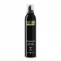 Nirvel Color Mousse 300ml Χρωμοαφρός χρώμα Κόκκινο