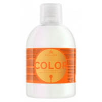 Σαμπουάν Kallos Cosmetics Color shampoo with linseed oil and uv filter 1000 ml