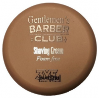 3VE Maestri Gentlemen's Barber Shaving Cream Foam Free Κρέμα Ξυρίσματος Χωρίς Αφρό 125ml