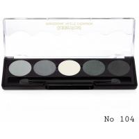 Golden Rose Professional Παλέτα Σκιών No104