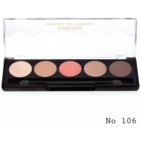Golden Rose Professional Παλέτα Σκιών No106