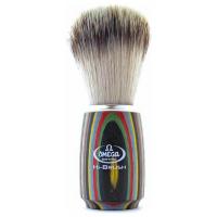 Omega πινέλο ξυρίσματος Art 6752 με τρίχα ασβού