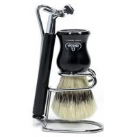 Omega πινέλο ξυρίσματος με βάση και ξυριστική Art 1206.W
