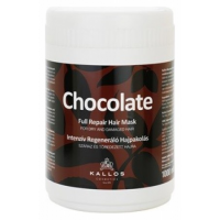Kallos Full Repair Mask Chocolate 1000ml Για Ταλαιπωρημένα Μαλλιά