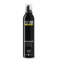 Nirvel Color Mousse χρωμοαφρός χρώματος καστανό 300ml