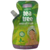 Beauty Formulas Peel-off μάσκα απολέπισης από αυστραλιανό τεϊόδενδρο 150ml